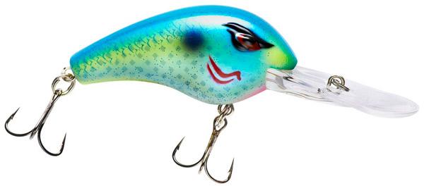 LunkerHunt Prop Fish Lure Color Threadfin ICAST WINNER NEW