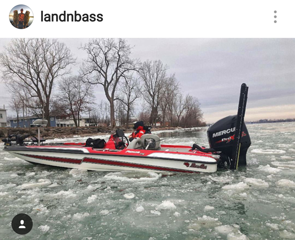 Winning open baits nascar copying bass fishing shallow for Cold water bass fishing