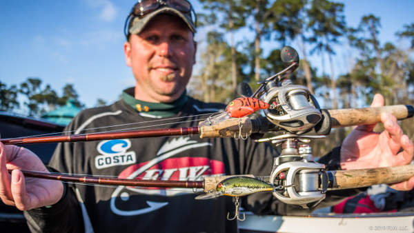 52934e270acd1 Colby Schrumpf (6th) cranked baits most folks have forgotten about but  still kill — a Bomber Fat A and Bandit 300