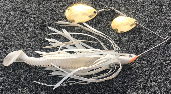 Z-Ray 1//16oz Brass with White Spots Fishing Lure
